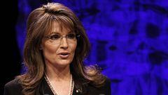 Trapas Sarah Palinové: na ruce měla politička napsaný tahák